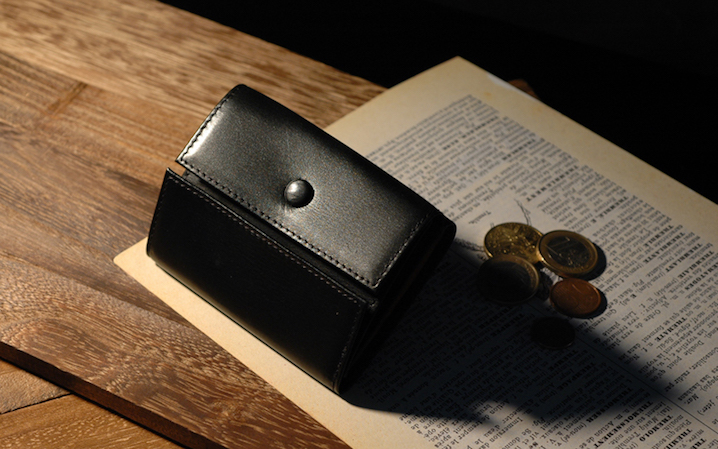 micの本革財布