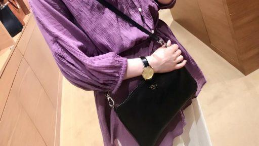 「ミニショルダーバッグ/ブラック」|宮崎店  池田さん