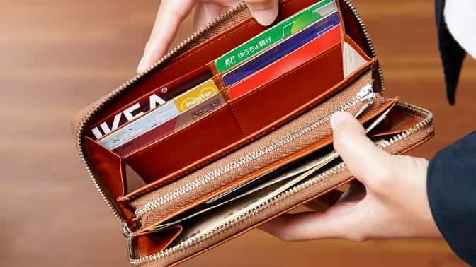 ビジネスレザーファクトリー 名入れラウンド財布