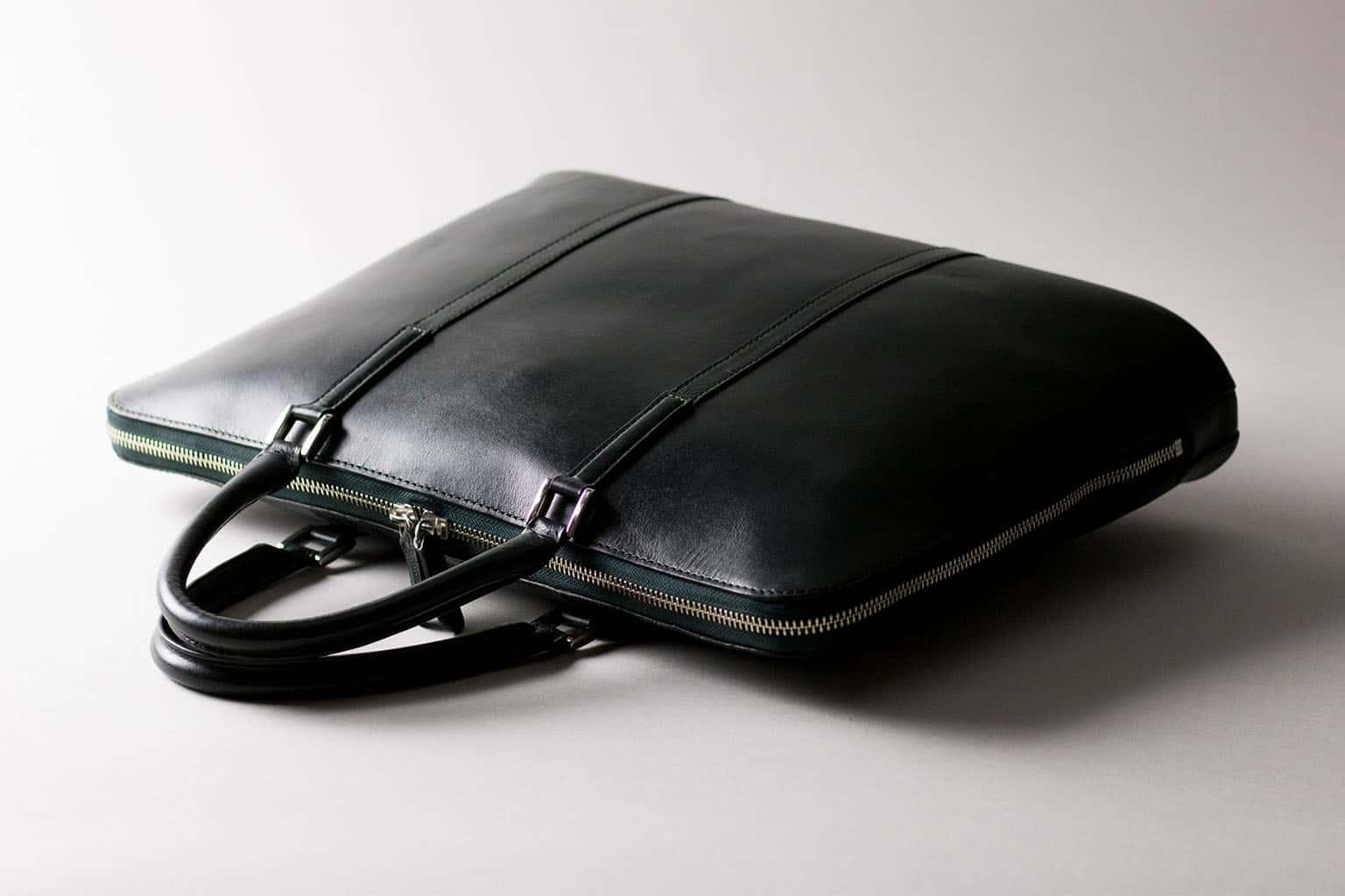 スリムビジネスバッグ   ビジネスレザーファクトリー