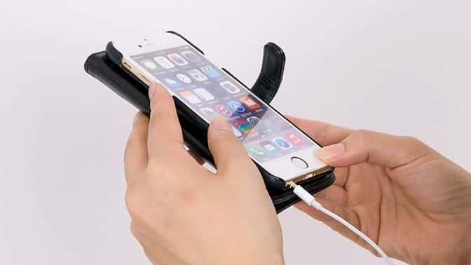 iPhoneケース手帳型