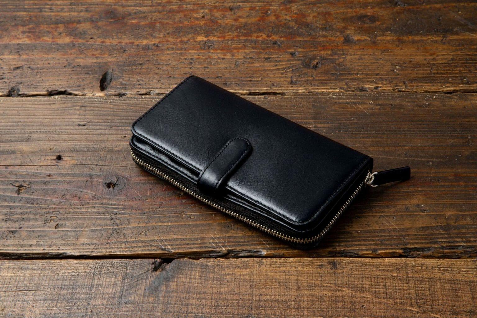 ダブル長財布