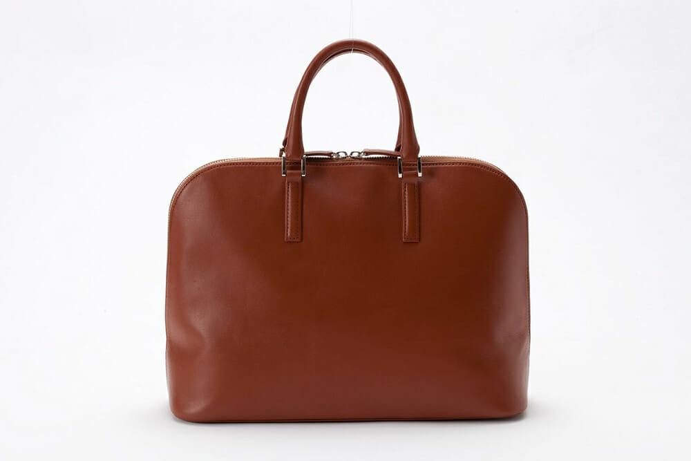 牛本革スリムビジネスバッグ(デルタ)