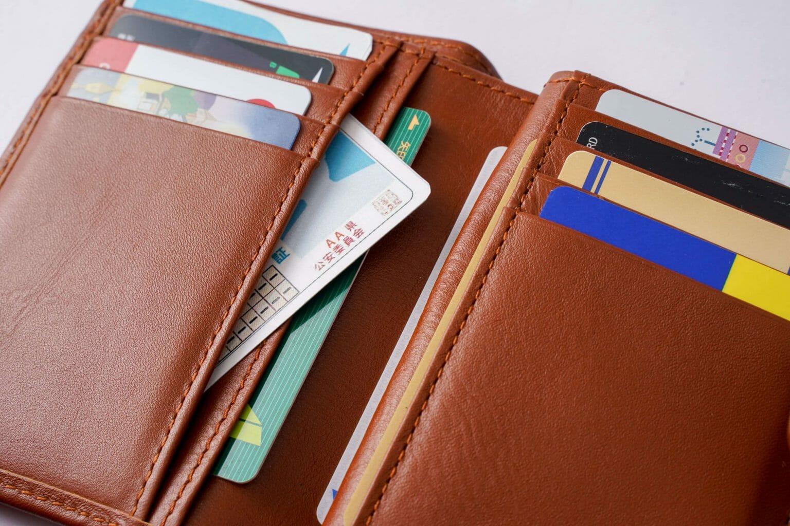 ミディアム二つ折り財布